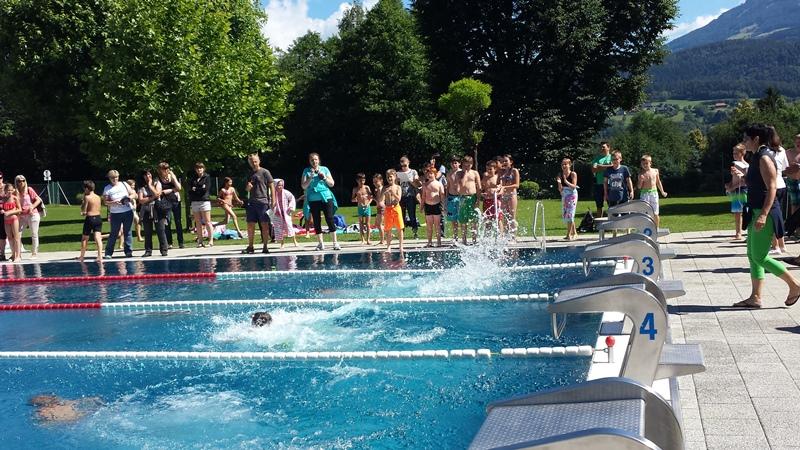 Bezirksschwimmmeisterschaften der Volksschulen des Bezirkes Villach Land