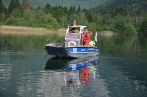Zivilschutzübung im slowenischen Bohinj