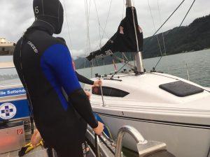 Bergung des Bootes 2