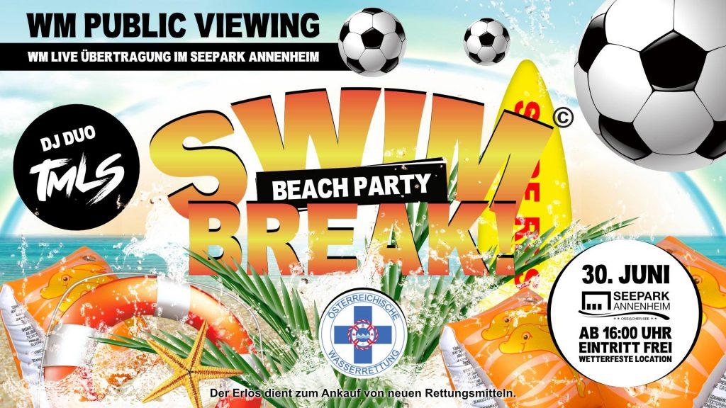 Swim-Break! Beach Party 2018