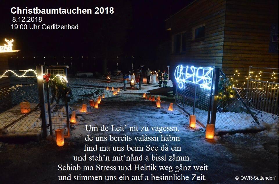 Christbaumtauchen 2018