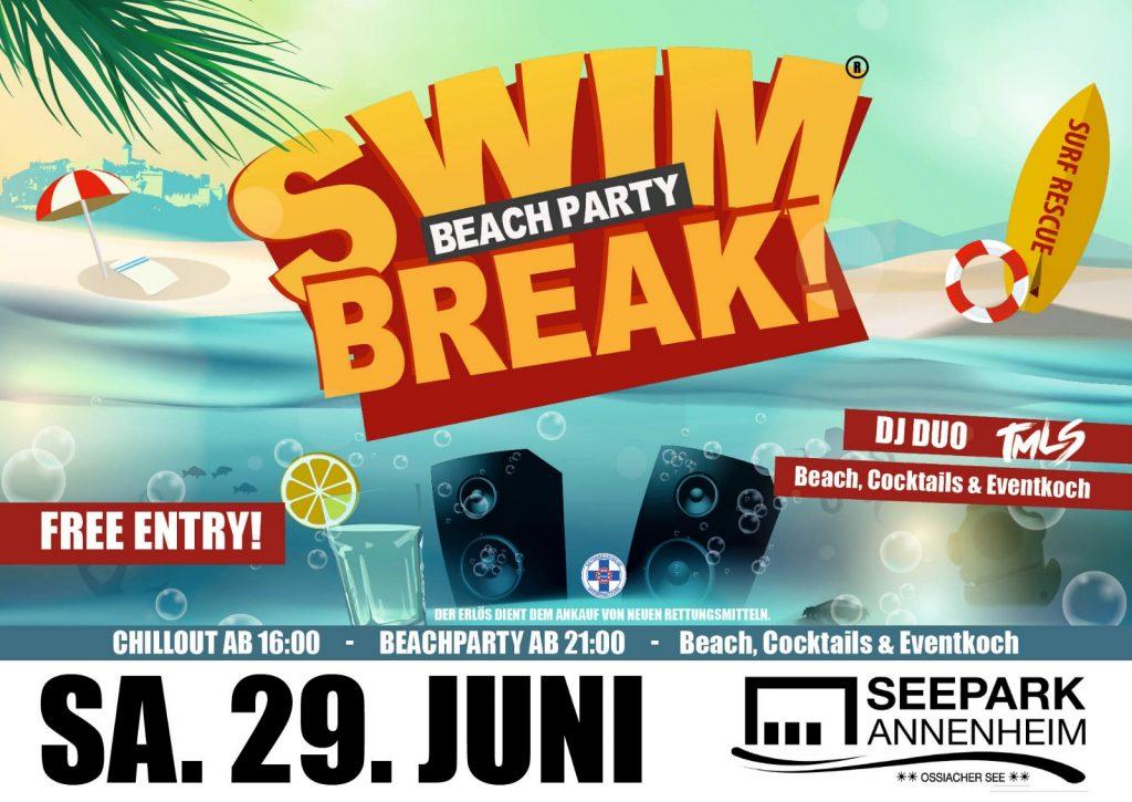 SWIM-BREAK! Beachparty 2019